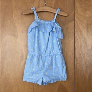 Janie and Jack romper excellent condition